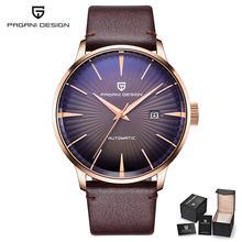 Часы PAGANI мужские, классические, водонепроницаемые, автоматические, деловые, спортивные(Китай)