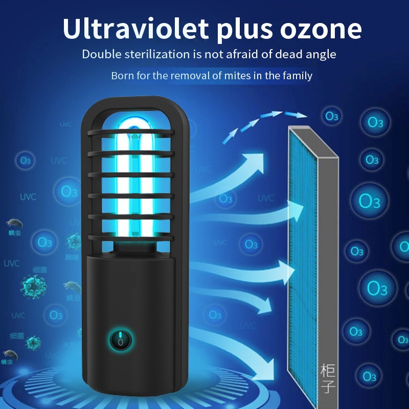 360 Degrees UV Ultraviolet Lamp Germicidal Disinfection Light Bulb Ozone Quartz Led Light For Home Clean Air Kill Mites