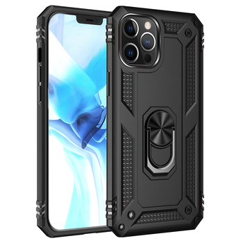 Case for iPhone 12 Pro, Magnetic TPU PC Armor Case with Ring Kickstand Mobile Accessories Cases Cover for iPhone 12 Pro 6.1