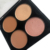 4-color four-color eye shadow Pearl matte eye shadow plate earth tone eye shadow