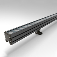 Outdoor facade light exterior led tube wash bar