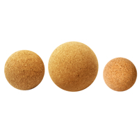 yoga cork massage ball - fascia release tool sizes 50mm