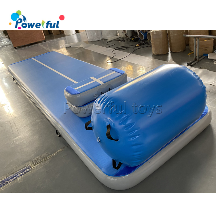 Beautiful inflatable gymnastics air mat/track
