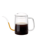 NEW TYPE pouring pitcher glass coffee maker, pour over coffee pot