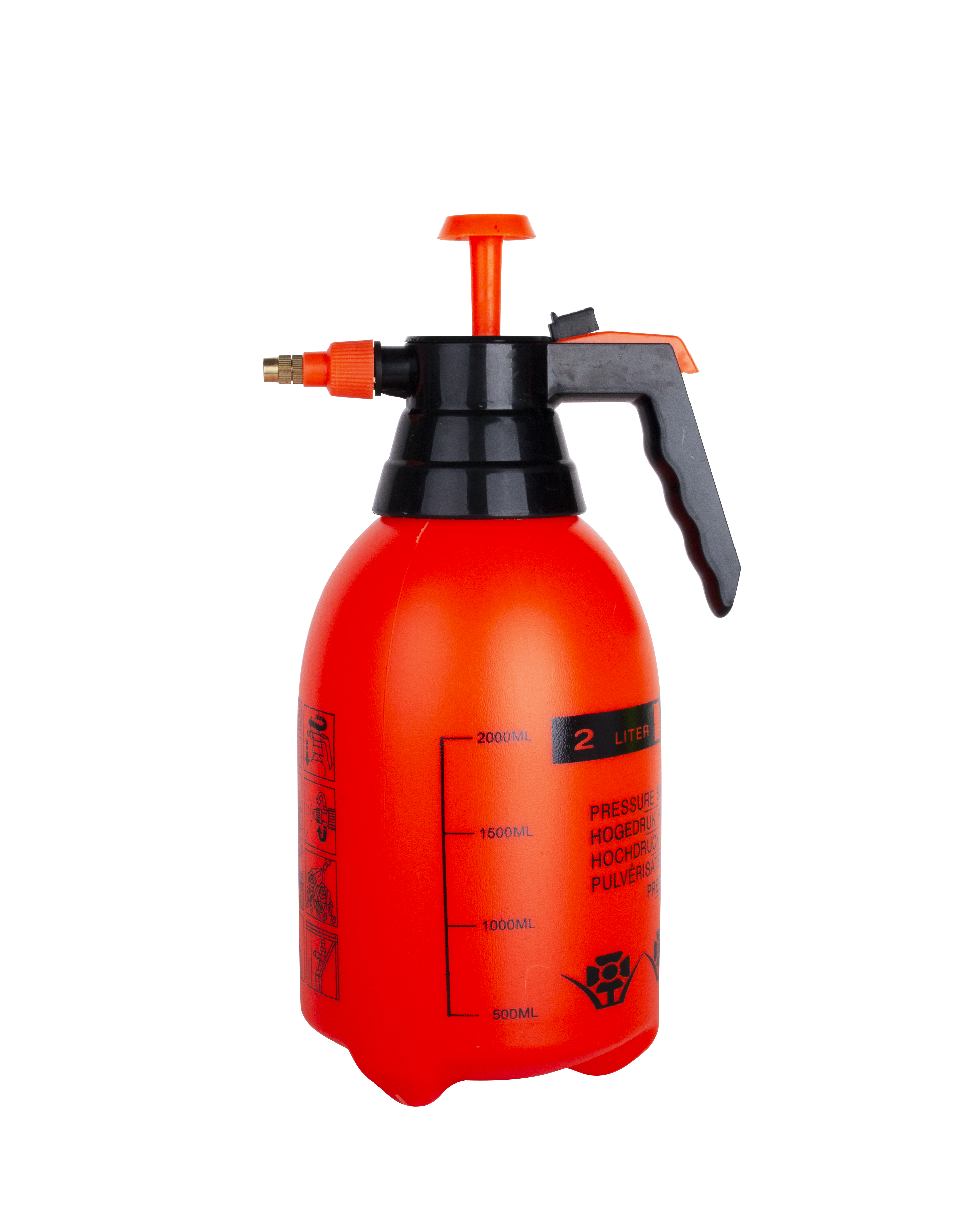 2000ml plastic agricultural trigger sprayer bottle for hand sanitizer alcohol <strong>spray</strong> China