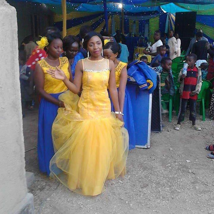 Yellow Mermaid Latest Gown Designs African Little Bride Wedding Dresses 2020 Vestidos De Novia