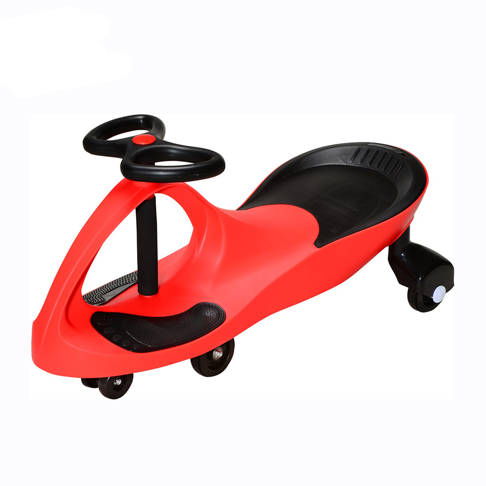 Commercial indoor plastic swing ride on car balance bike for children