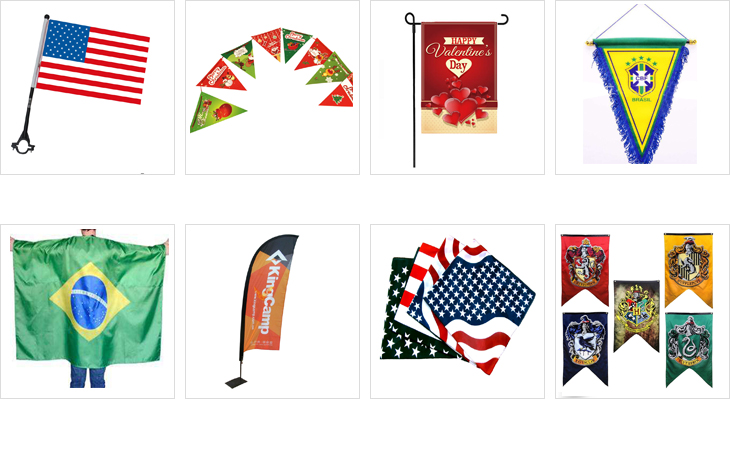 Hot selling wholesale mixed countries hanging PVC PE string banner