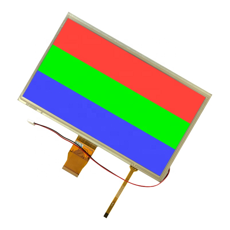 TCC Shenzhen 1024x600 Lcd Display Touch Screen RGB Interface 50 Pins 10.1 Inch TFT Panel With RTP