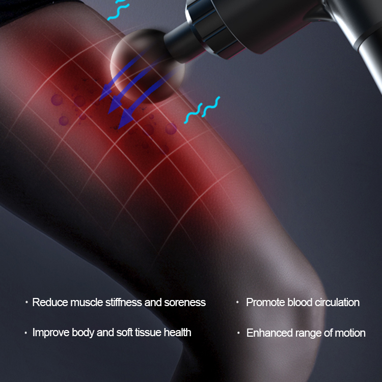 New-generation Muscle Vibration Portable Massage Gun