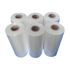 20-30kg Each Roll White PLA Plastic Film for Land or Food Packing
