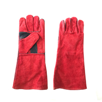 Professional Safety Equipment Leather Welding Gloves safety gloves