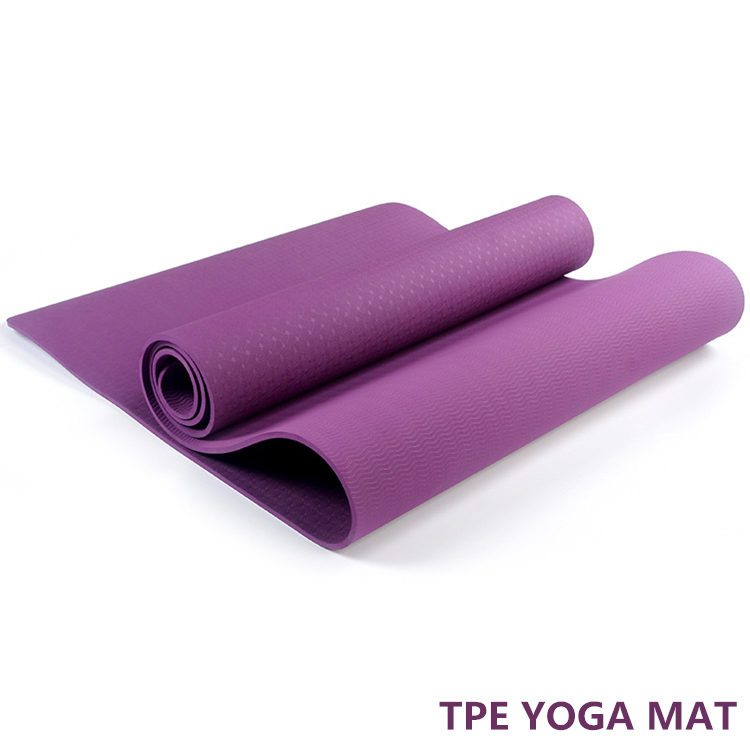 OEM Intensification Thickness Double Layer Organic Mat TPE Yoga Mat