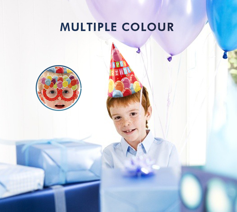 Decoration happy ballons colorful theme set kids birthday party supplies