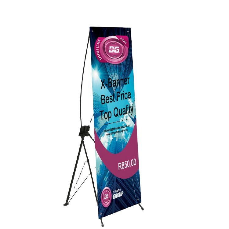 80*180 Adjustable Aluminum Frame X Stand Display Banner