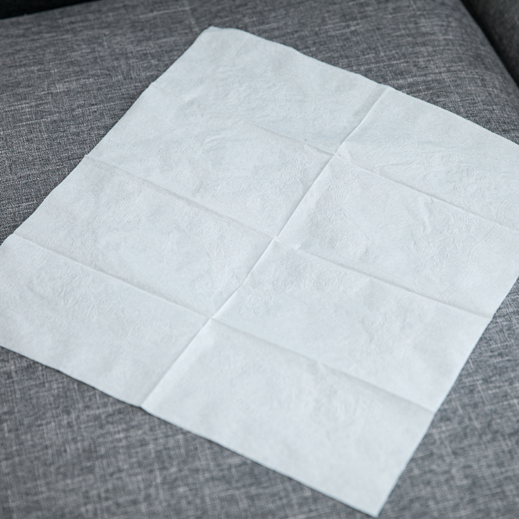 Fiesta White 400mm pack of 250 Dinner Napkin