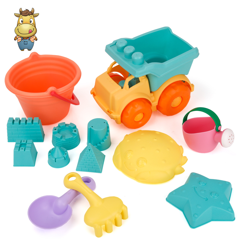 Supermarket Hot Sale <strong>Kids</strong> Soft Plastic Beach Sand <strong>Toy</strong> Set <strong>Outdoor</strong> Summer Play Bucket <strong>Toy</strong> For Sale
