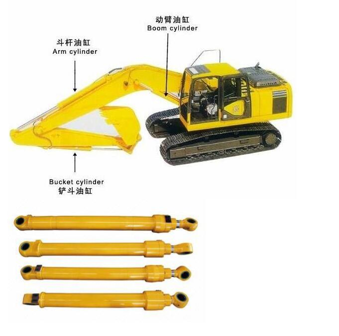 Excavator hydraulic <strong>cylinder</strong> ZX160 Boom <strong>Cylinder</strong>