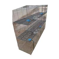 HJ-RC12 breeding rabbit cage with nest box handing outside