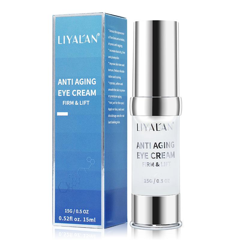 Skincare Hot Products Dark Circle Brightening Lifting Serum for Eye Bags Anti Aging Organic Eye Serum