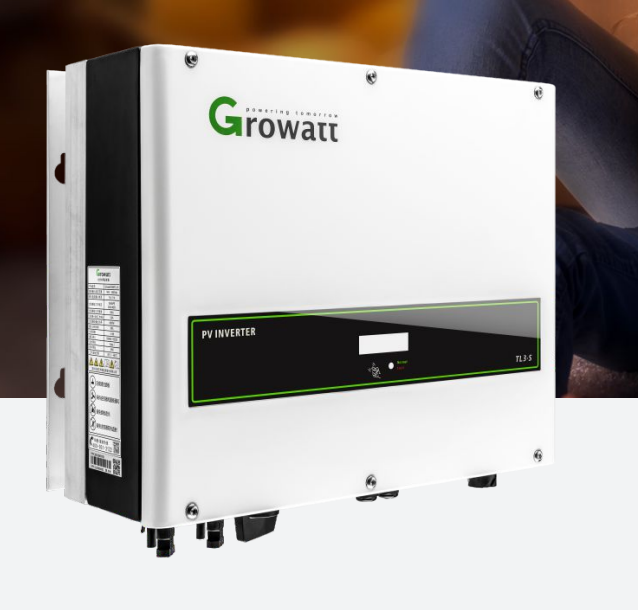 GTG-123 GROWATT 380V Inverter 12KW 13KW 15KW On-grid Converter Gobel Top 10 Rooftop Inversor Three Phase 12000TL3-S