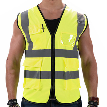 New Products Top Quality Motorcycle Work Reflective Safety Vest ,Security Jacket