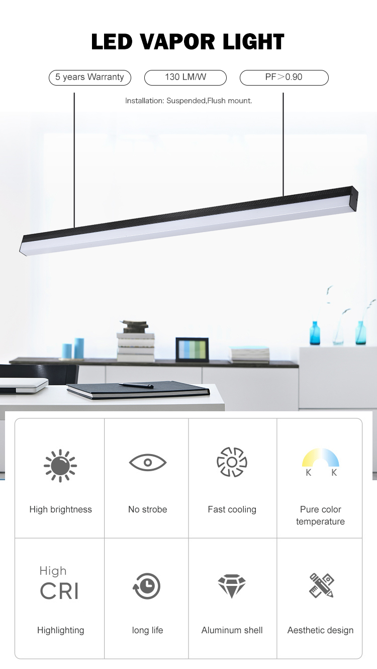 Quality supplier smd adjustable indoor 30 40 w LED Lighting Fixture