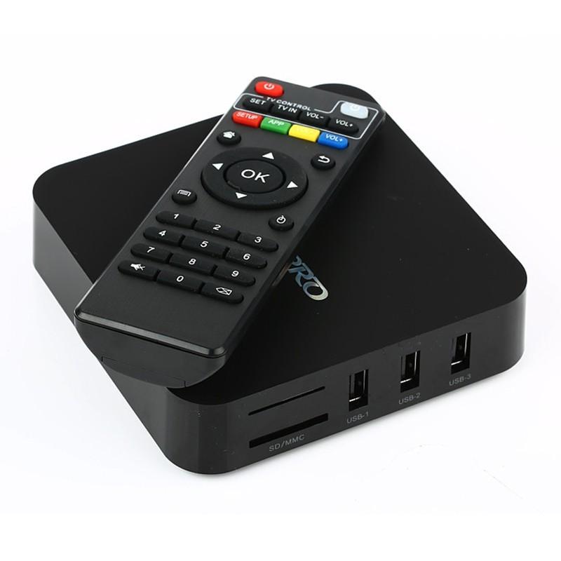 Mxq Pro 4K Quad Core 4Gb Ram Android 7,1/9,0 Rk3229 OTT Smart Tv Box