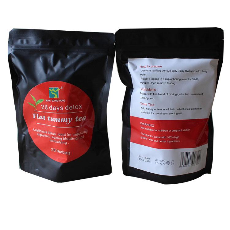 Factory direct low MOQ FDA Approved Natural herbal 28 days detox tea slimming private label - 4uTea | 4uTea.com