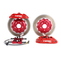 MINZHONG TT5440 China Factory Big 4 Pot Brake Caliper High Performance Racing Sport Ceramic Plate Brake Disc Pad