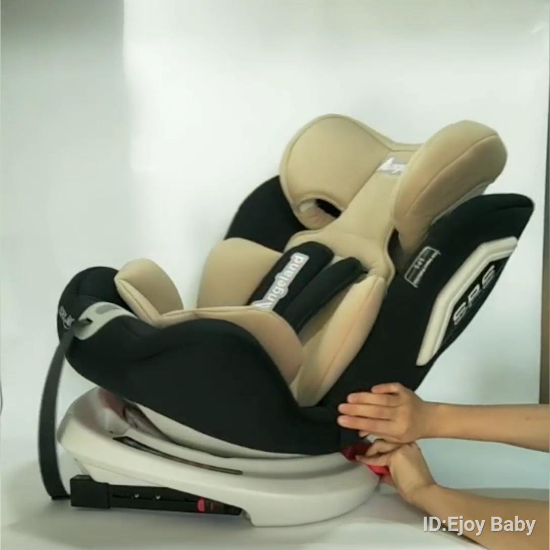 カスタマイズされたロゴ色 ece R44/04 ベビーカーシート 0-36 キロ 360 度回転させて子供子供 growning 安全シート車