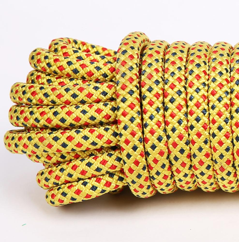 color 32 strands 10mm polypropylene braided rope hank.jpg