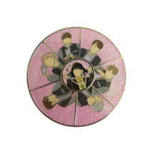 BTS Spinner Emaille <span class=keywords><strong>Pin</strong></span> Metall Glitter Revers <span class=keywords><strong>Pin</strong></span>