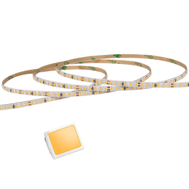 CRI90 1800K 2210 flexible Led Strip light DALI 3 SDCM 4mm Ultra narrow 240led/m SMD 2216 Led Lighting strip