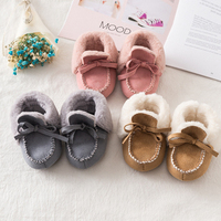 Winter Plush Warm Booties Kids PU Leather Snow Boots Baby Girls Boys Wholesale Shoes Footwear 2019 Brand Australian Wholesale