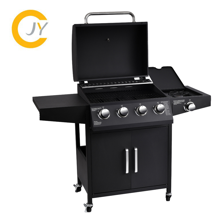 La cina Ha Fatto 4 Principale Bruciatore Barbecue Barbecue Grill A Gas