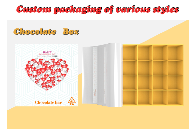 Custom Recycled Printed Child Resistant Cardboard Gift Packaging Box Custom Child Proof Prerolls Boxes