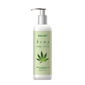 Skin Care Private Label Natural Organic Nourishing Moisturizing Whitening Hemp Body Lotion Cream