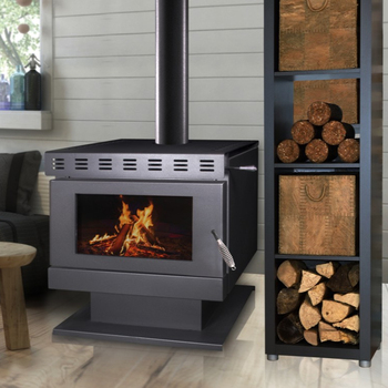 Smokeless Insert Fireplace Cast Iron Wood Burning Stove With Oven,Industrial Decorative Burning Wood Stoves
