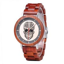Распродажа BOBOBIRD часы деревянные Мужские Женские кварцевые наручные часы Рождественский подарок лучший подарок в коробке montre homme(Китай)