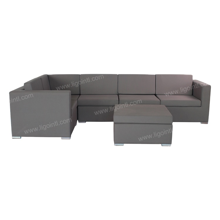Hot sale modern l shaped sectional lounge couch living room sofa