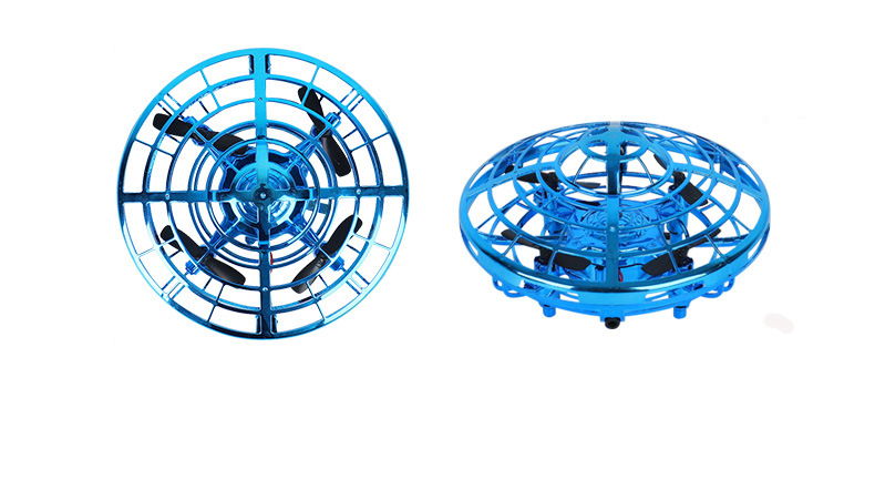 saucer levitation UFO induction toys aircraft fairy gesture induction luminous toy anti falling helicopter Remote control toys