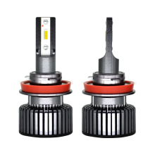 Mobil LED Headlight Bulbs 50W 6000LM H4 Lampu LED H7 H4 5202 H13 C6 LED
