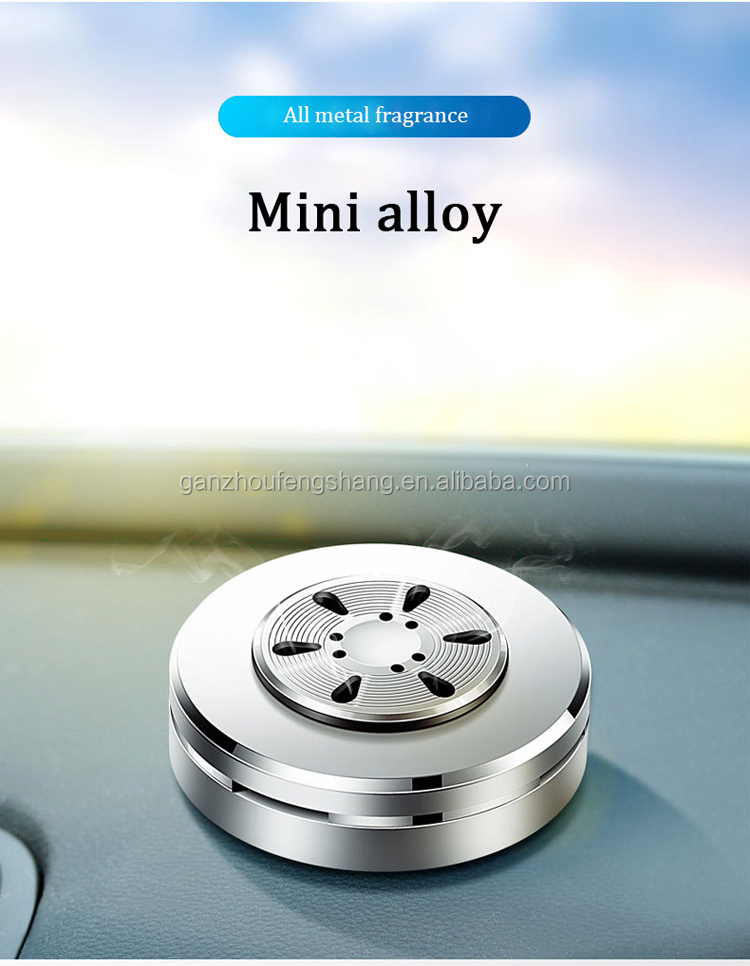 Solid Gel Aromatherapy Fragrance Diffuser Car Perfume Seat Holder Air Freshener