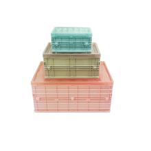 가정용 Essentials storage 함 플라스틱 foldable storage box