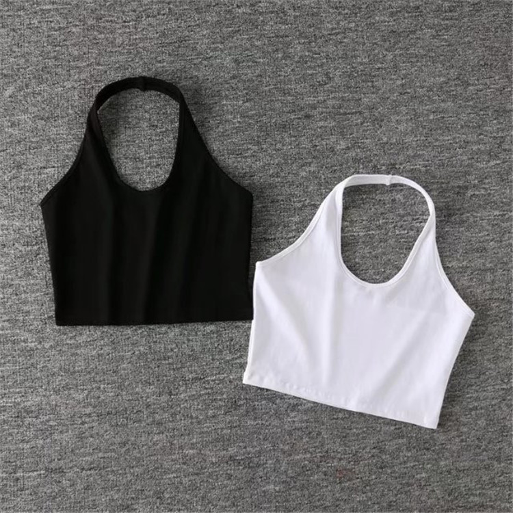 Fashion custom oem logo plain blank casual poly viscose slim fit girl tshirt women crop top