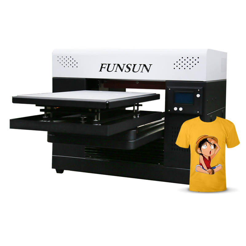 New advanced a3 size textile fabric sweater cloth tshirt printing machine dtg <strong>printer</strong> for t-shirt