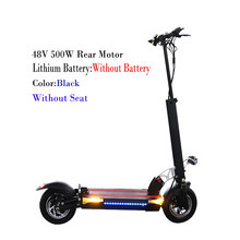 48 в 500 Вт Мощный электрический скутер 100 км Расстояние 26ah батарея складной электрический скейтборд велосипед Patinete Electrico Adulto(Китай)