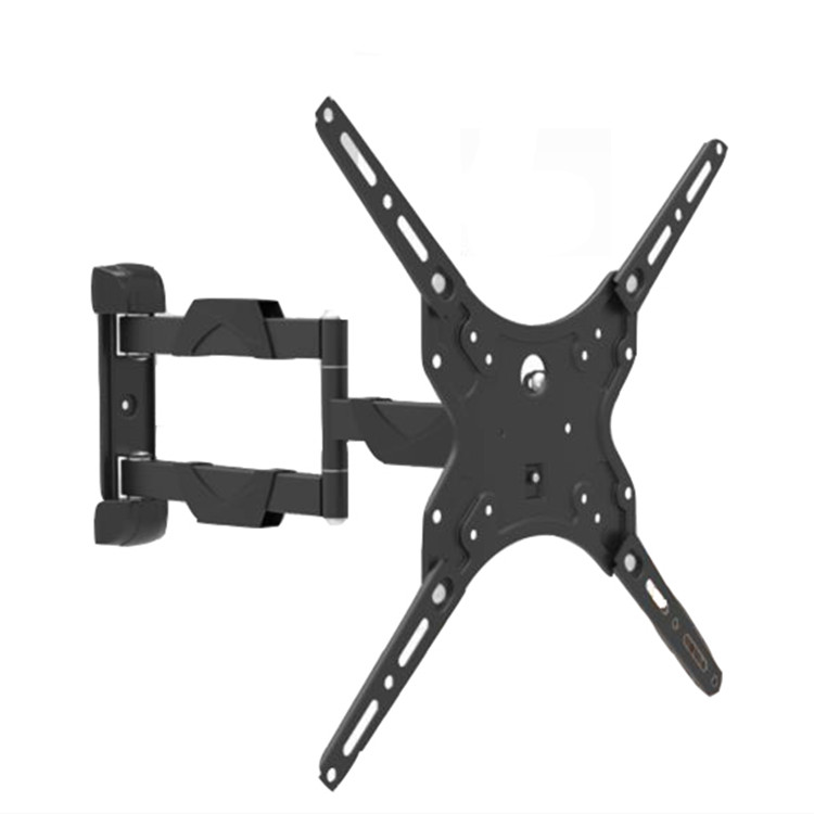 NB Zwart Universele Full Motion Verwijderbare VESA Cantilever LED LCD TV Wall Mount Extension Beugel 50 ''/60''
