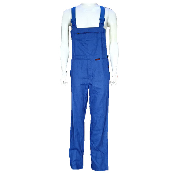 Soft durable breathable Workwear Overalls Tan With Durable elastic straps